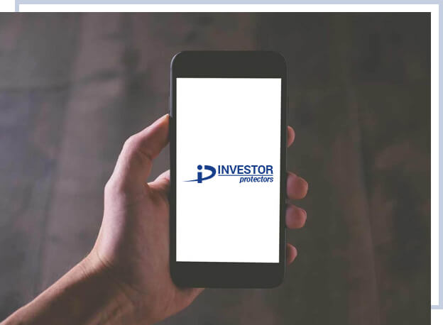 Investor Protectors Logo in a mobile device